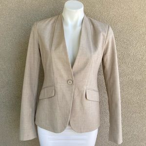 The Perfect Nude Work Slim Fit Blazer One Button